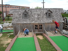 backyard, individual sports, sports, recreation, property, outdoor recreation, yard, games, estate, golf, miniature golf, lawn,