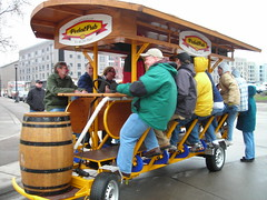 Free rides on the Pedal Pub