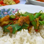 Spicy Shrimp and Long Bean Curry - Phuket, Thailand