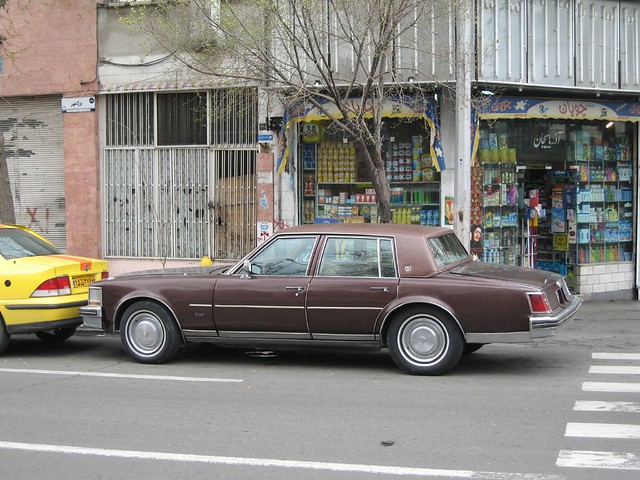 Cadillac In Iran