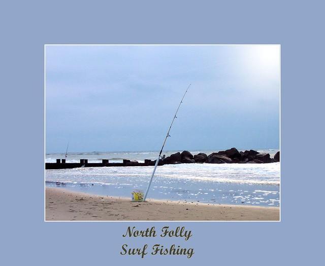 Surf fishing north folly beach sc flickr photo sharing for Folly beach fishing