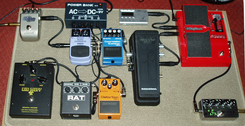 pedal board effects pedals amp guitar acdc power bank ma flickr. Black Bedroom Furniture Sets. Home Design Ideas