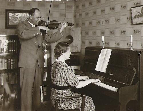 Aaro Pekkarinen ja Aili Sihvonen