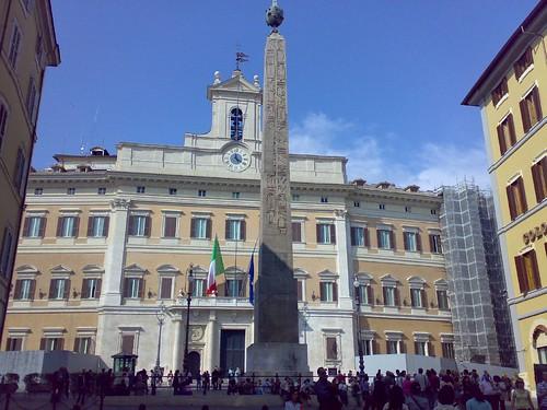 Palazzo montecitorio attrazione roma italia guide for Indirizzo camera dei deputati roma