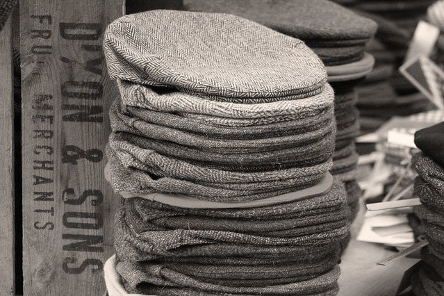 Pile of flat caps