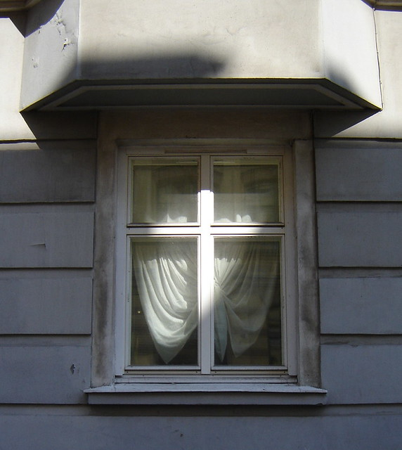 A window in Helsinki
