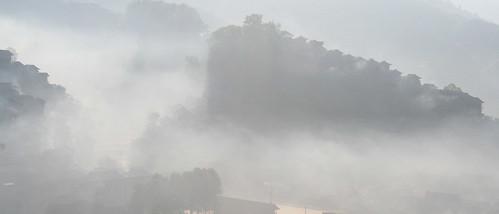 china travel mist sunrise asia nomadlife guizhou xijiang