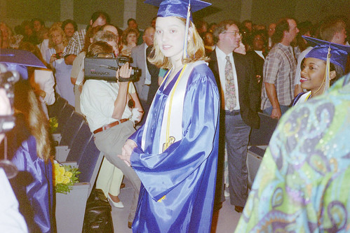 Me, graduating from high school in 1997