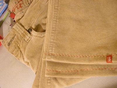 Como fazer barra de calça? passo #5