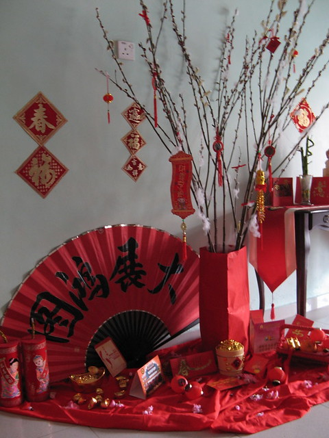 Cny home decoration ii flickr photo sharing for Ang pow decoration