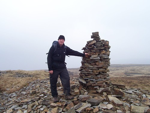 The summit of Fountains Fell