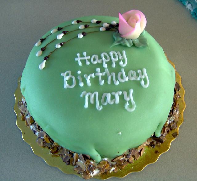 Happy Birthday Mary Ellen Cake