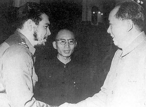 Che Guevara and Chairman Mao during the Cuban-Argentine revolutionary's visit to China in 1964. High-level delegations from the Communist Party of China have met with the Cuban Communist Party in 2007 and 2012. by Pan-African News Wire File Photos