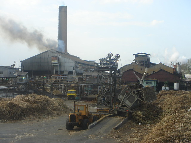 sugar cane factory | trinidad, the sweet treacley smell of ...