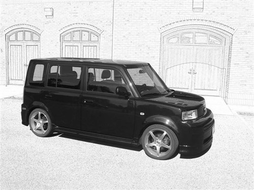 Scion xb Drawing (Small)