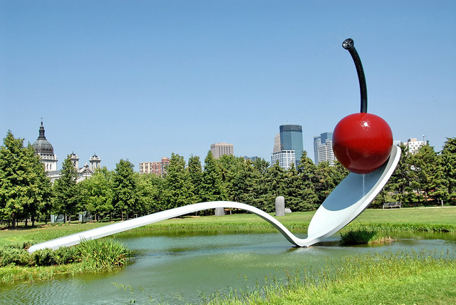 Minneapolis Sculpture Garden by CC user faceme on Flickr