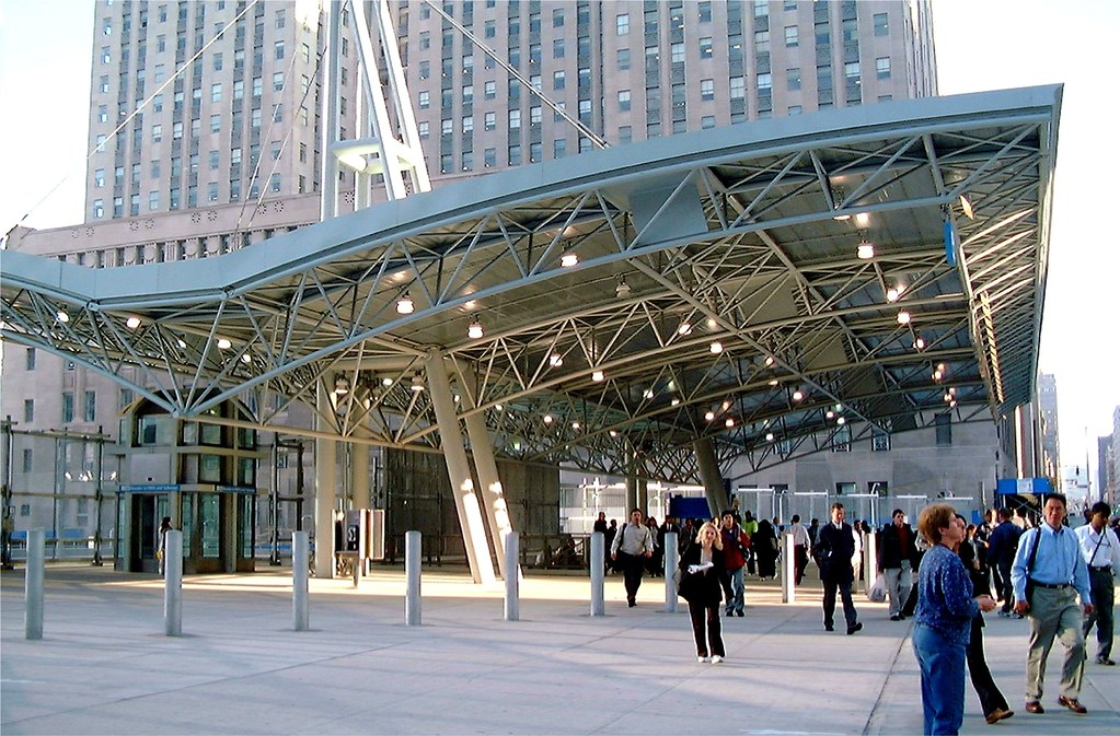 Temporary Vesey Street PATH Terminal Station at the World Trade Center Site, Manhattan, New York City
