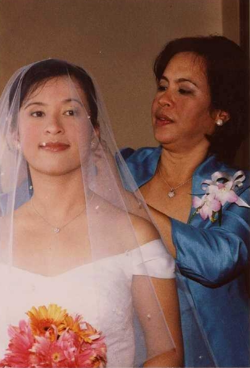 One of my favorite pictures with Mama. Post for her Mother of the Bride speech.