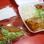 Enchiladas and Tacos to go, from Senor Taco 沖縄市「セニョールタコ」からテイクアウト。