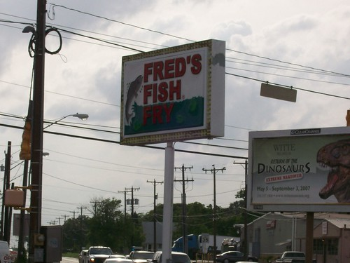 San antonio tx daily photo fred 39 s fish fry for Fred s fish fry