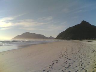 Image of Noordhoek Beach near Constantia. capetown longbeach noordhoek