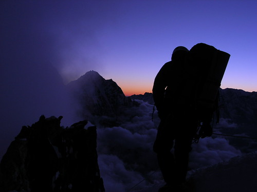 nepal sunset mountains expedition climbing himalaya khumbu amadablam node:id=178