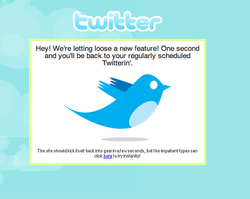 Twitter: Update!