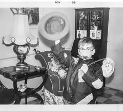 Hobo Halloween, the Bronx, 1959