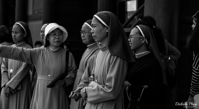 The nuns of Korea