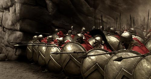 Spartan Phalanx / 300 the movie