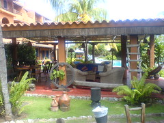 courtyard, backyard, outdoor structure, property, pergola, eco hotel, estate, real estate, villa, hacienda,