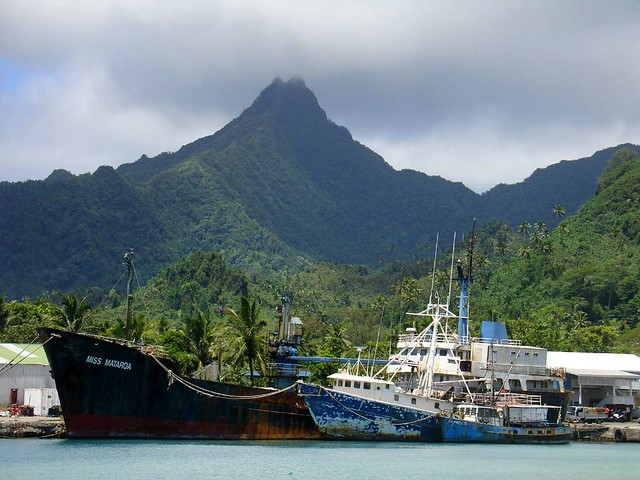 Avatiu Harbour, Rarotonga, Cook Islands