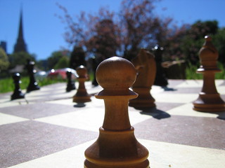 Chess in the Fitzroy Gardens 2