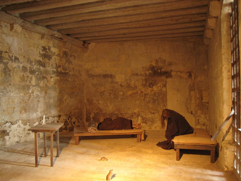 Calabozo en el Castillo de Loches