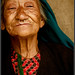 Beautiful old lady from Darap(Sikkim) village by Sukanto Debnath