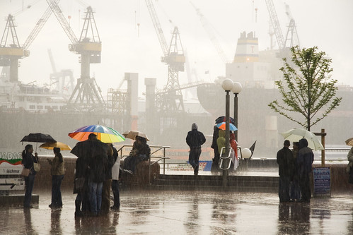 Typical Hamburg weather