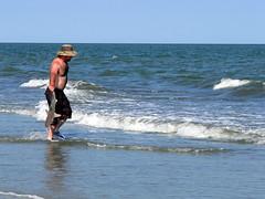 Man Returning Shark