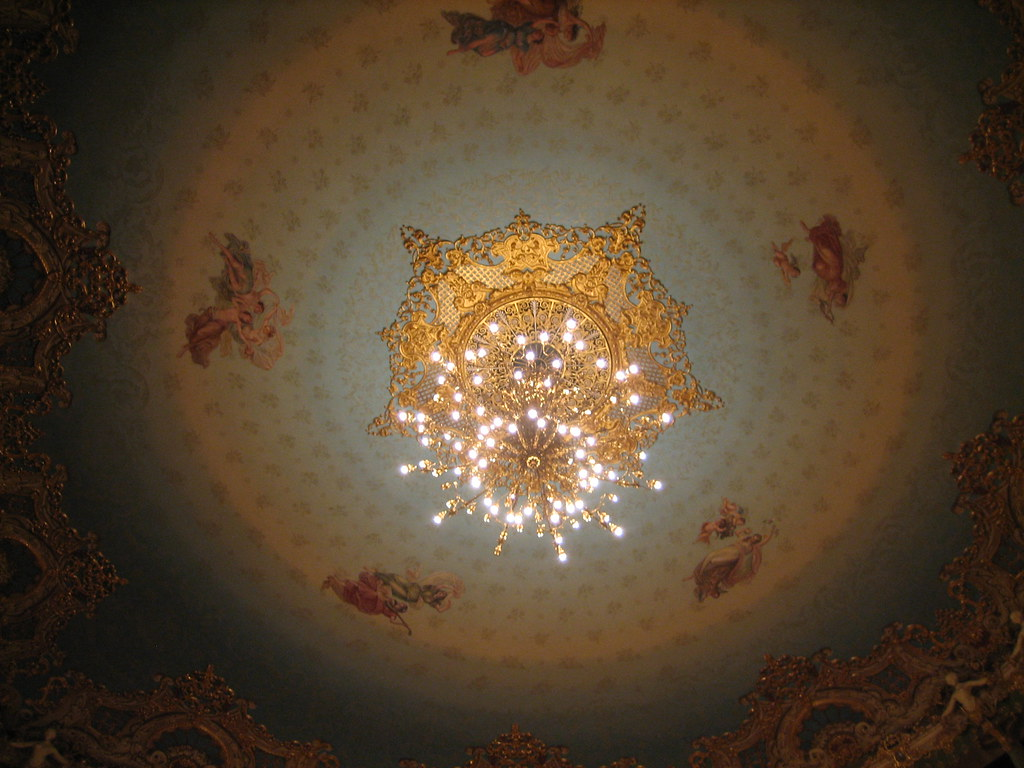 Ceiling of Opera house La Fenice