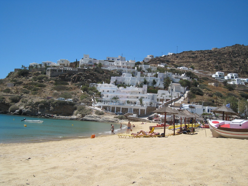 Ios, Cyclades, Greece 2007 Mylopotas beach