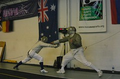 weapon combat sports(1.0), fencing weapon(1.0), contact sport(1.0), sports(1.0), combat sport(1.0), fencing(1.0), foil(1.0),