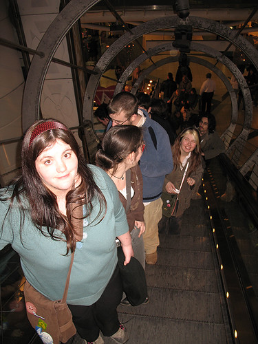 The Escalator at the Trocadero
