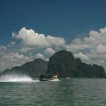 Boat on Phang Nga Bay - Phang Nga, Thailand