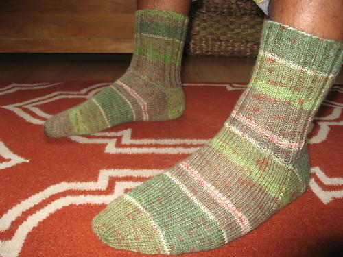 Step socks 3