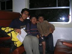 Camino de vuelta a Cusco en tren