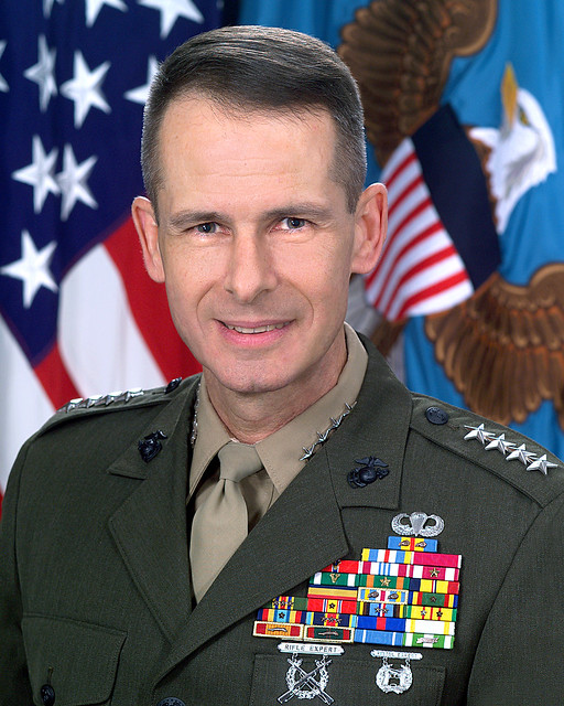 He is so GAY- Gen. Peter Pace! (No, he's not a porn star.)