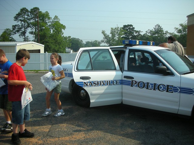 Glad to Get Out of Police Car | Flickr - Photo Sharing!