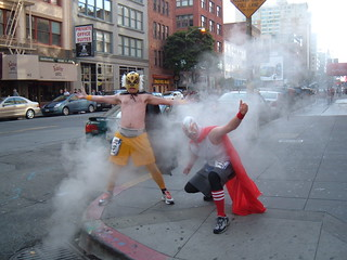 Crazy Mexican Wrestler Guys