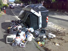 vehicle, litter, waste,