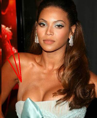Beyonce boob fakes think, that