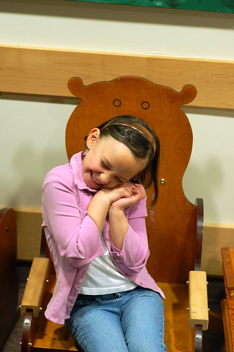 L in the BCCA Bear Chair 1